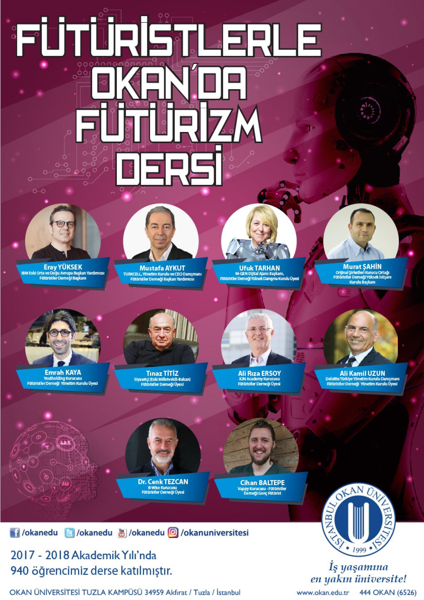 fütürizm dersleri ile geleceğe hazırlanıyorlar İstanbul okan